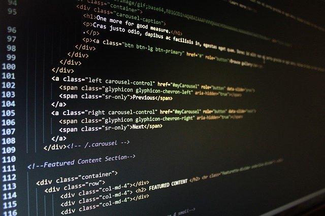 kódování webové stránky